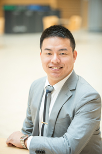 A photo of Dr. Vincent Wong